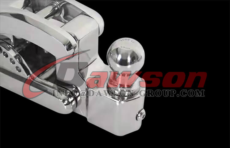 Stainless Steel 304 Adjusting Trailer Ram, SS304 Towing Hook - Dawson Group Ltd. - China Manufacturer, Factory