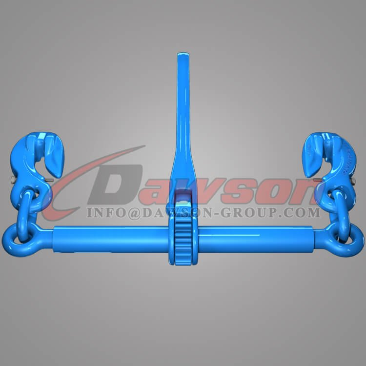 Grade 100 Ratchet Type Load Binder with Safety Hooks for Lashing - Dawson Group Ltd. - China Factory