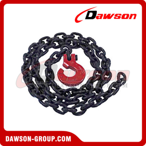 G100 Logging Chain Chokers / Grade 100 Chain Choker with Clevis Forest Hook