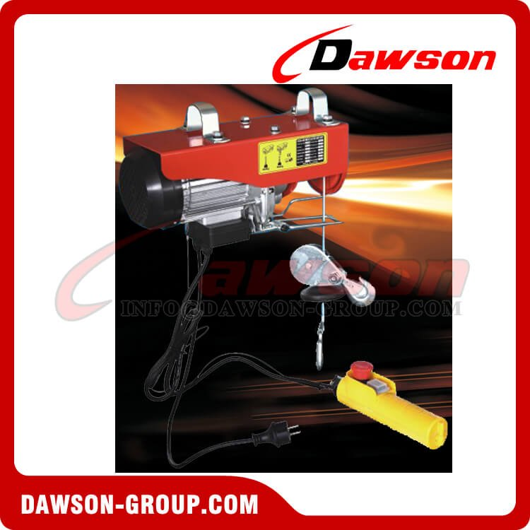 DS-PA200E-DS-PA1000E Mini Electric Hoist Series - Dawson Group Ltd. - China Supplier