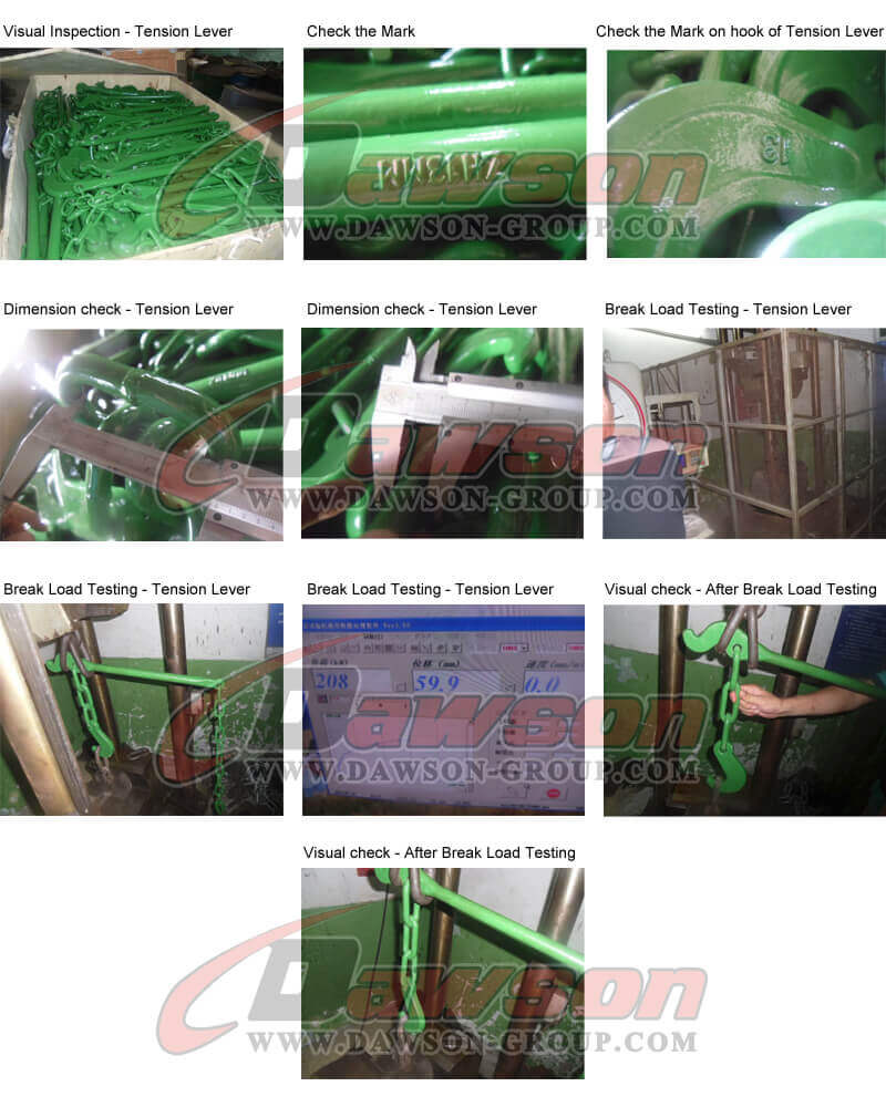 Test of Tension Lever - China Supplier, Factory