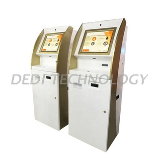 Dedi Touch Screen Cash Recycler Payment Kiosk Bitcoin Litecoin Etherum ATM