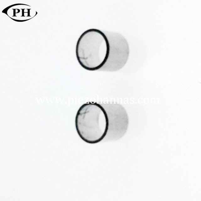 low frequency piezo tubes transducer for ultrasonic receiver transducer