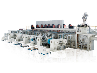 Full-Servo Control Zero-Trim T-type Baby Diaper Production Line