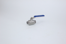 2PC Stainless Steel M/M Thread Ball Valve