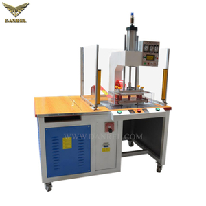 High Frequency PVC Welding Machine with Safety Enclosure and Infrared Light Curtain