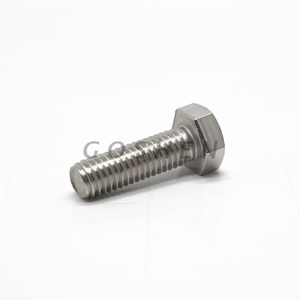 GB 5780 Metric SS316L Full thread hex head bolt M10