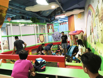 Jungle theme indoor playground (1)