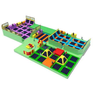 Indoor Playground Trampoline Park for Adults & Kids