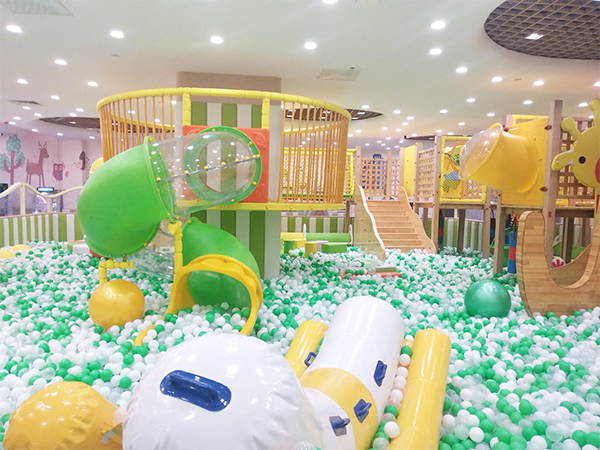 Custom Design Amusement Park Soft Indoor Playground in Zhengzhou