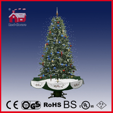 (40110U170-GS) All Green New Style Snowing Christmas Tree with LED for Decoration