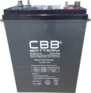 CBB® DCG310-6 Deep Cycle Gel Battery
