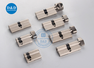 Door Lock Cylinder with CE certificate manufacturered by dndhardware