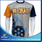Custom Sublimation Boy's Lacrosse Short Sleeve Sports Shooting Shirts