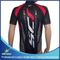 Custom Sublimated Cycling Shirt Clothing with 3/4 Zipper