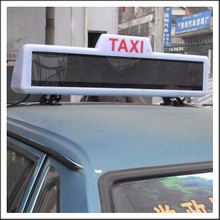 HTS-VT6-16128 Taxi Top LED Moving Message Display Sign