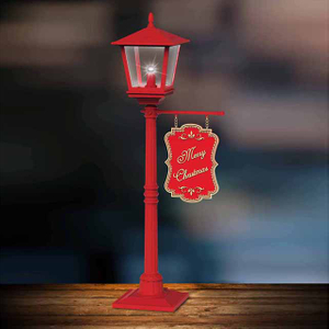 New Product Red Table Lamp for Home And Christmas Decoration 2018