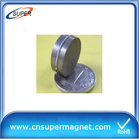 Promotional D15*2 mm Disc magnets SmCo