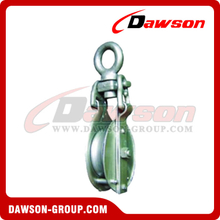 DS-B006 Snatch Block With Eye Self-Locking For Manila Rope