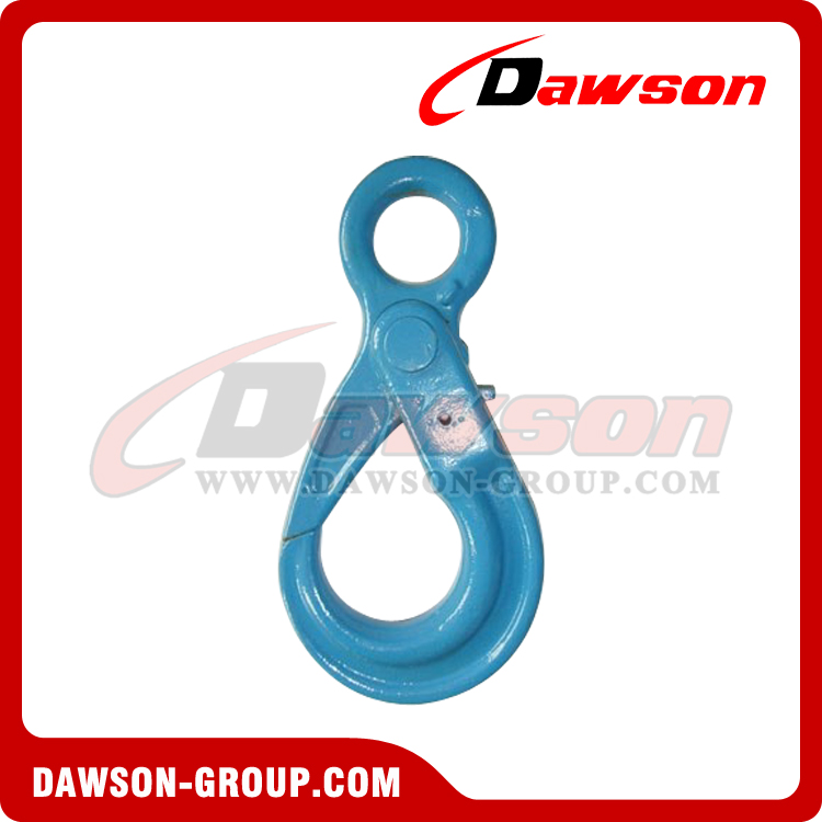 DS1005 G100 European Type Eye Self-Locking Hook Lifting Equipment for Crane Lifting Chain Slings