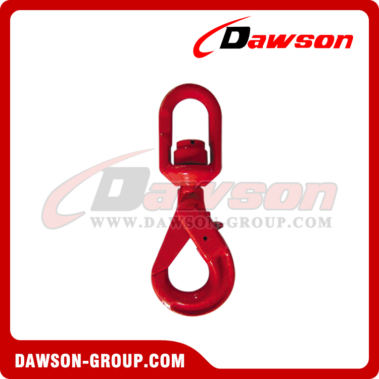 DS042 G80 SWIVEL SELFLOCK HOOK WITH BEARING - DAWSON GROUP LTD. - CHINA SUPPLIER