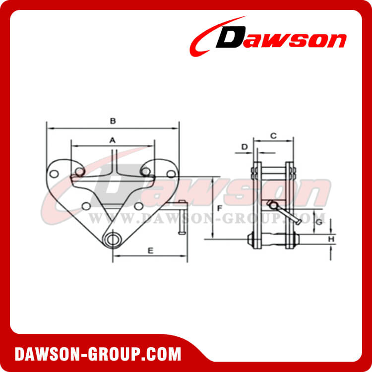 Application of DS-YC Type Beam Clamp-Dawson group
