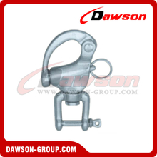Stainless Steel Swivel Snap Shackle with Jaw Head