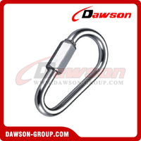 Zinc Plated Pear Shaped Quick Link