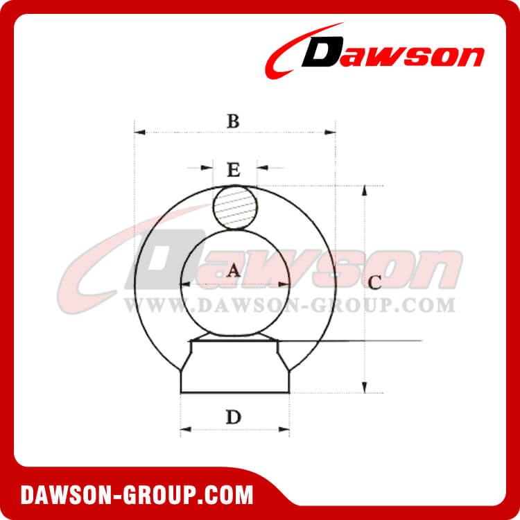 DIN 582 EYE NUT - Dawson Group Ltd. - China Manufacturer, Supplier, Factory, Exporter