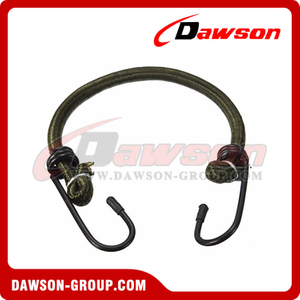 Single Type Bungee Cord Assembly, Elastic Straps With 2 Iron Hooks ES-0020