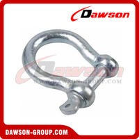 European Type Commercial Galv. Bow Shackle