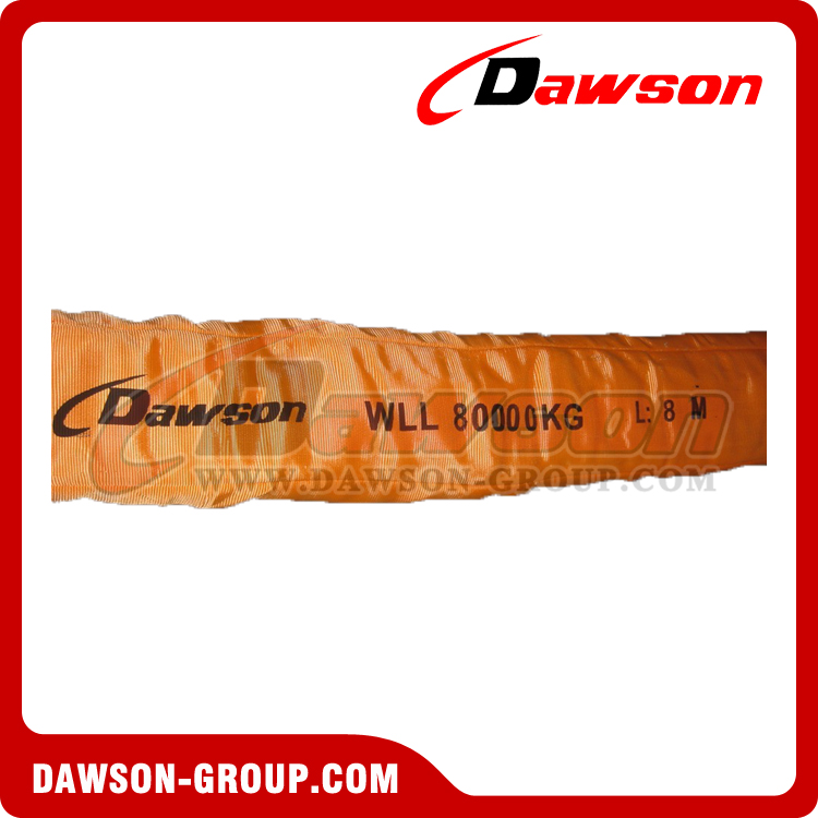 80 ton 8m heavy duty round slings - Dawson Group Ltd. China Manufacturer Supplier