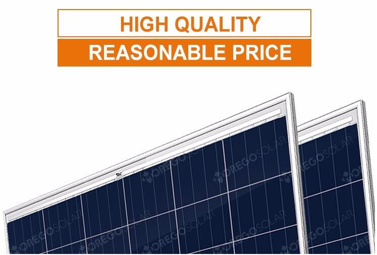 Moregosolar A Grade High Efficiency Solar Panel Module 24v