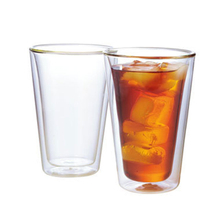 400ml Double Wall Glass Cup