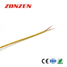 FEP insulated thermocouple extension wire--Single pair, twisted