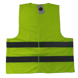 Customized Logo Polyester High Visibility Reflective Safety Vest