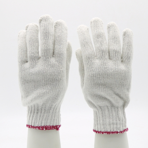 White Labor Protection Cheap Cotton Hand Gloves