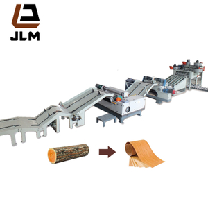 Automatic CNC Control 8 Feet Plywood Veneer Peeling Line for Plywood Production