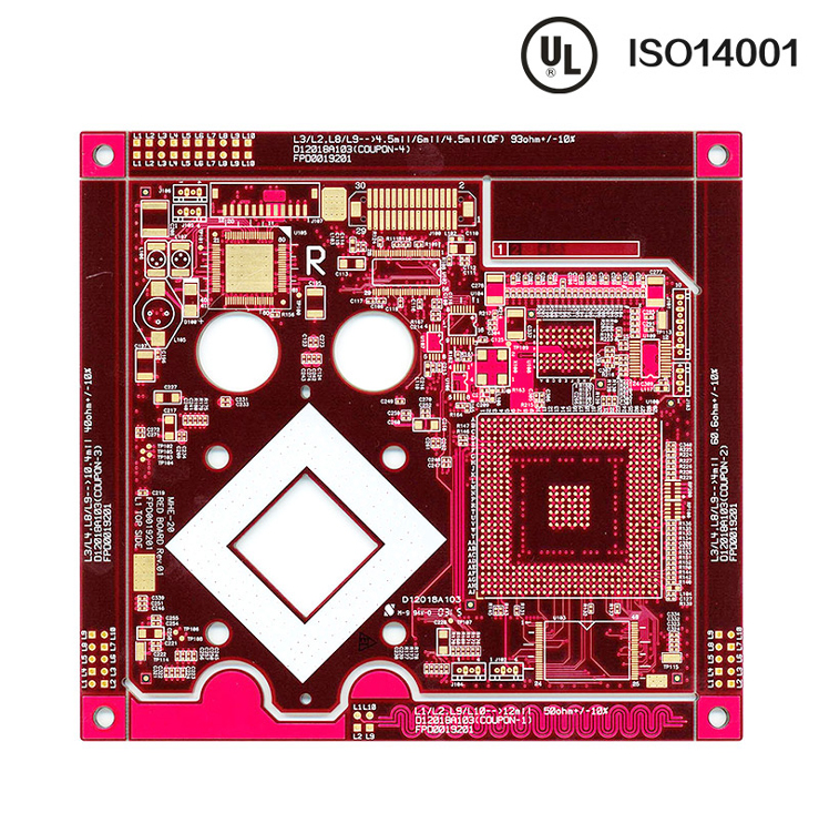 Phone-Multilayer-PCB with UL