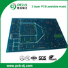 2 layer PCB with peelable mask