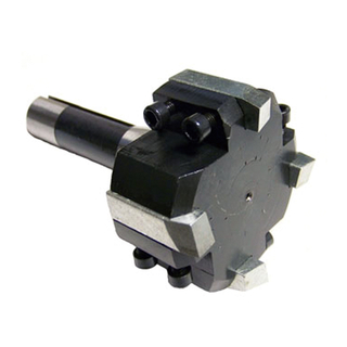R8/ MT2/ MT3/ MT4 Face Milling Cutter With 4 Inserts. - Accessories For Lathe/mill/drill