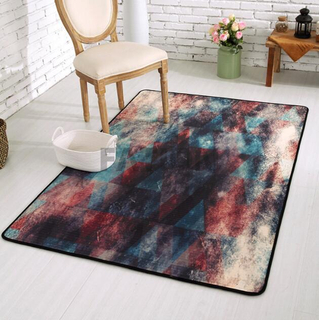 Hot Sell Inexpensive Print Polyester Rug