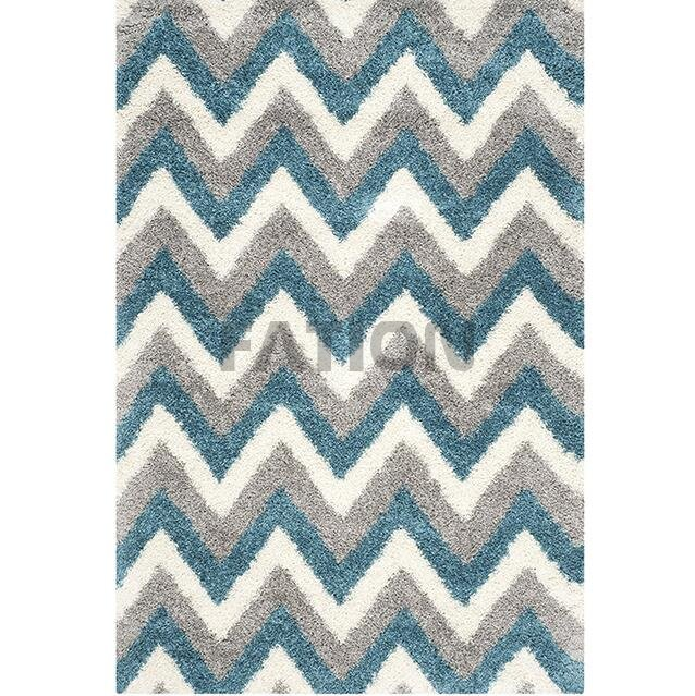 5'×8' Polyester Anti-slip Shag Collection Rug