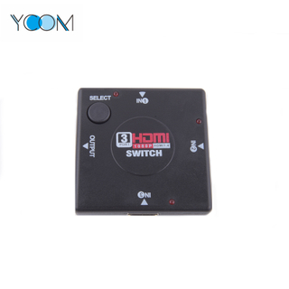1080P 3 Input 1 Output HDMI Switch 1.4 Version