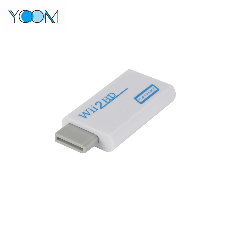 Wii to HDMI Converter Output Video Audio Adapter