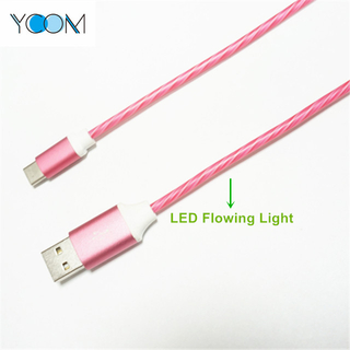 Luz de flash LED Cable USB para Tipo C