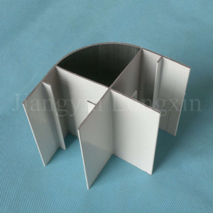 Powder Coated Round Aluminium Profile