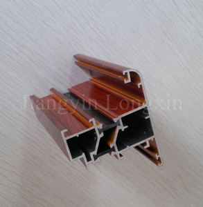 Wooden Aluminium Profile for Casement Window, thermal break