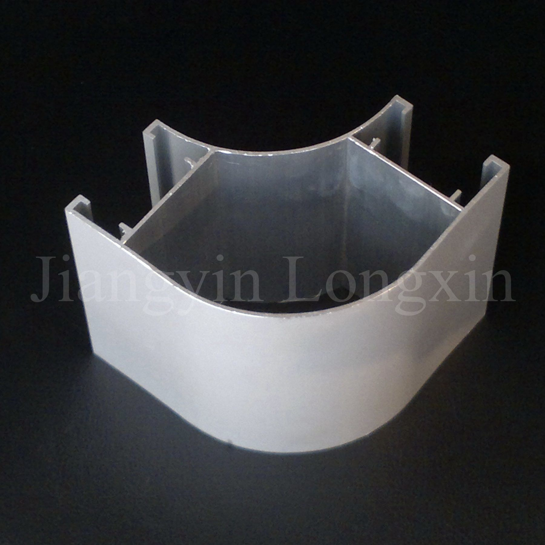 Silver Anodiing Aluminum Profile for Connection