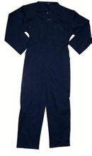 Navy blue safety work wear, cheap coverall for workers